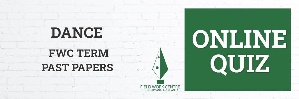 Dance - Field Work Center - Term Exam Paper